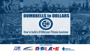 Personal Training Certification - Dumbbells to Dollars